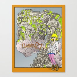 Dr. Langa: Dawn 27 Canvas Print