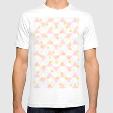 Throw kindness around like confetti Mens Fitted Tee White MEDIUM
