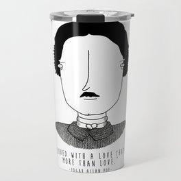 Literary Love: Edgar Allan Poe Travel Mug