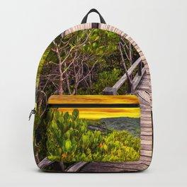 Mangrove Forest Sunset Backpack