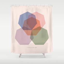 Rose Seven Shower Curtain