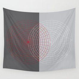 Confused lines Wall Tapestry