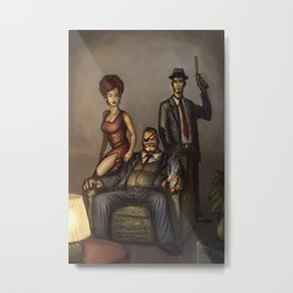 Mobsters Metal Print