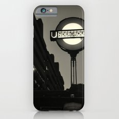 London Temple Undergroung Station iPhone 6s Slim Case