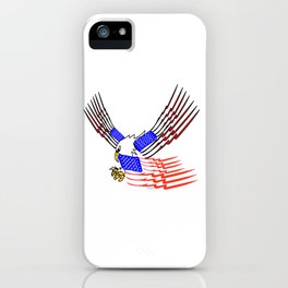 """Hoo Rah"" America iPhone Case"
