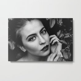Blacknwhite Metal Print