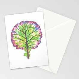 Colors of Kale Stationery Cards