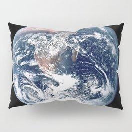 Apollo 17 - Iconic Blue Marble Photograph Pillow Sham