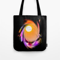 sunrise Tote Bags featuring Sunrise by Walter Zettl