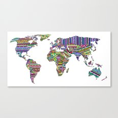 Overdose World Canvas Print