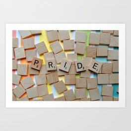 LGBT Pride Tiles Art Print
