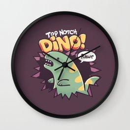 Top Notch Dino! Wall Clock