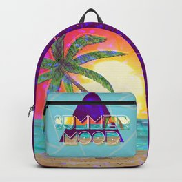 Summer mood landscape pattern Backpack