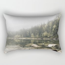 Pale lake - landscape photography Rectangular Pillow