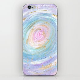 Pastel Galaxy iPhone Skin