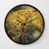 batik Wall Clocks featuring Batik by Alicia Bock