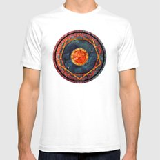 Cosmos MMXIII - 06 White SMALL Mens Fitted Tee