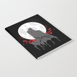 Howl at the Moon (Awoo) Notebook