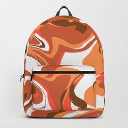 Brown marble Backpack
