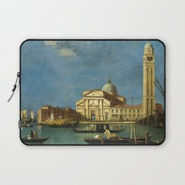 Venice - S. Pietro in Castello by Canaletto Laptop Sleeve