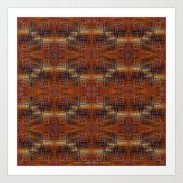Holding Pattern Art Print