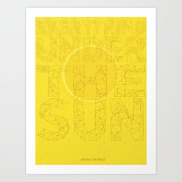 Jukebox the Ghost - Everything Under the Sun Art Print