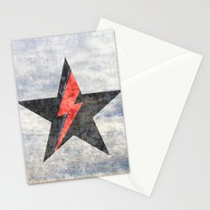 BlackStarMan (waiting in the sky) Stationery Cards