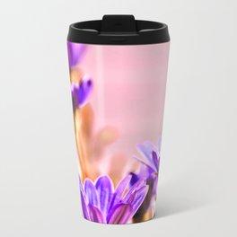 Osteospermum flowes Metal Travel Mug