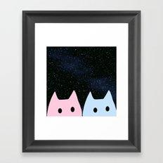 cat-35 Framed Art Print