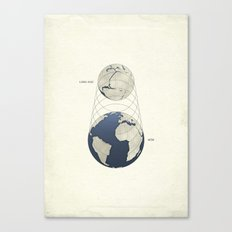 Growing Earth Canvas Print