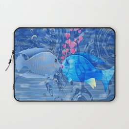 Fish In Love Laptop Sleeve
