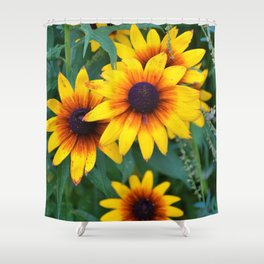 Rise of the Sunflowers Shower Curtain