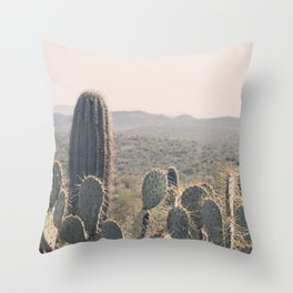 Arizona Cacti Throw Pillow