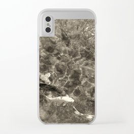 Swimming Gala Clear iPhone Case