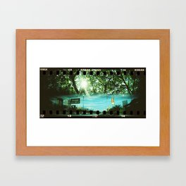 Horizontal Split (1) Framed Art Print