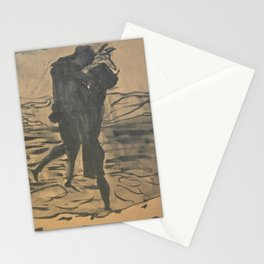 Lovers Together Stationery Cards