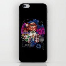 Super Machines iPhone Skin