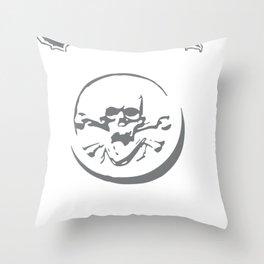 Entombed Skull Death Nihilist Edge Of Sanity Throw Pillow