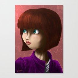 Girls (#2) Canvas Print
