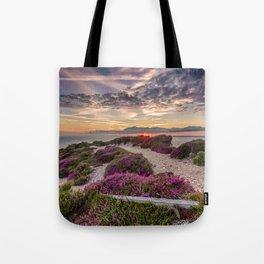 Headon Hill Sunset Isle Of Wight Tote Bag