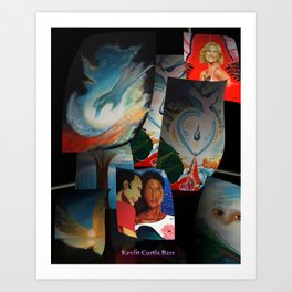KEVIN CURTIS BARR 'S ART POSTERS Art Print