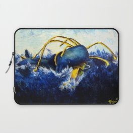 Whale vs Colossal Squid Laptop Sleeve