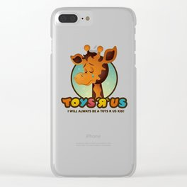 Toys R us - RIP Clear iPhone Case