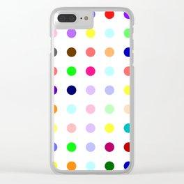 Demozepam Clear iPhone Case