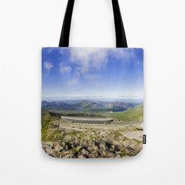 Snowdon Cafe Tote Bag