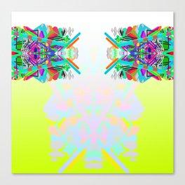 Uranium Totem Canvas Print