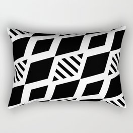 black and white background #society6 #decor #buyart #artprint Rectangular Pillow