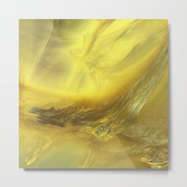 3D Fractal Landscape 3 Metal Print