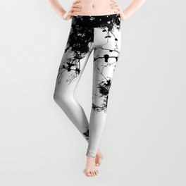 freedom to fly up to sky Leggings