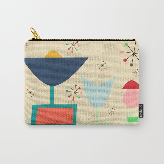 Mid Century modern #1 Carry-All Pouch